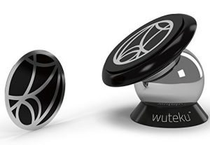 Wuteku Magnetic Cell Phone Holder Kit For Car