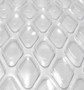 Midwest Canvas Clear Diamond 18-Foot Round Solar Cover | 16 Mil | Heating Blanket for Above-Ground Swimming Pools