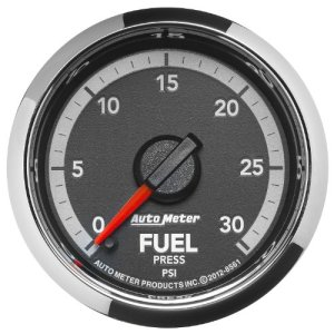 "Auto Meter 8561 Factory Match 2-1/16"" Electric Fuel Pressure Gauge (0-30 PSI, 52.4mm)"