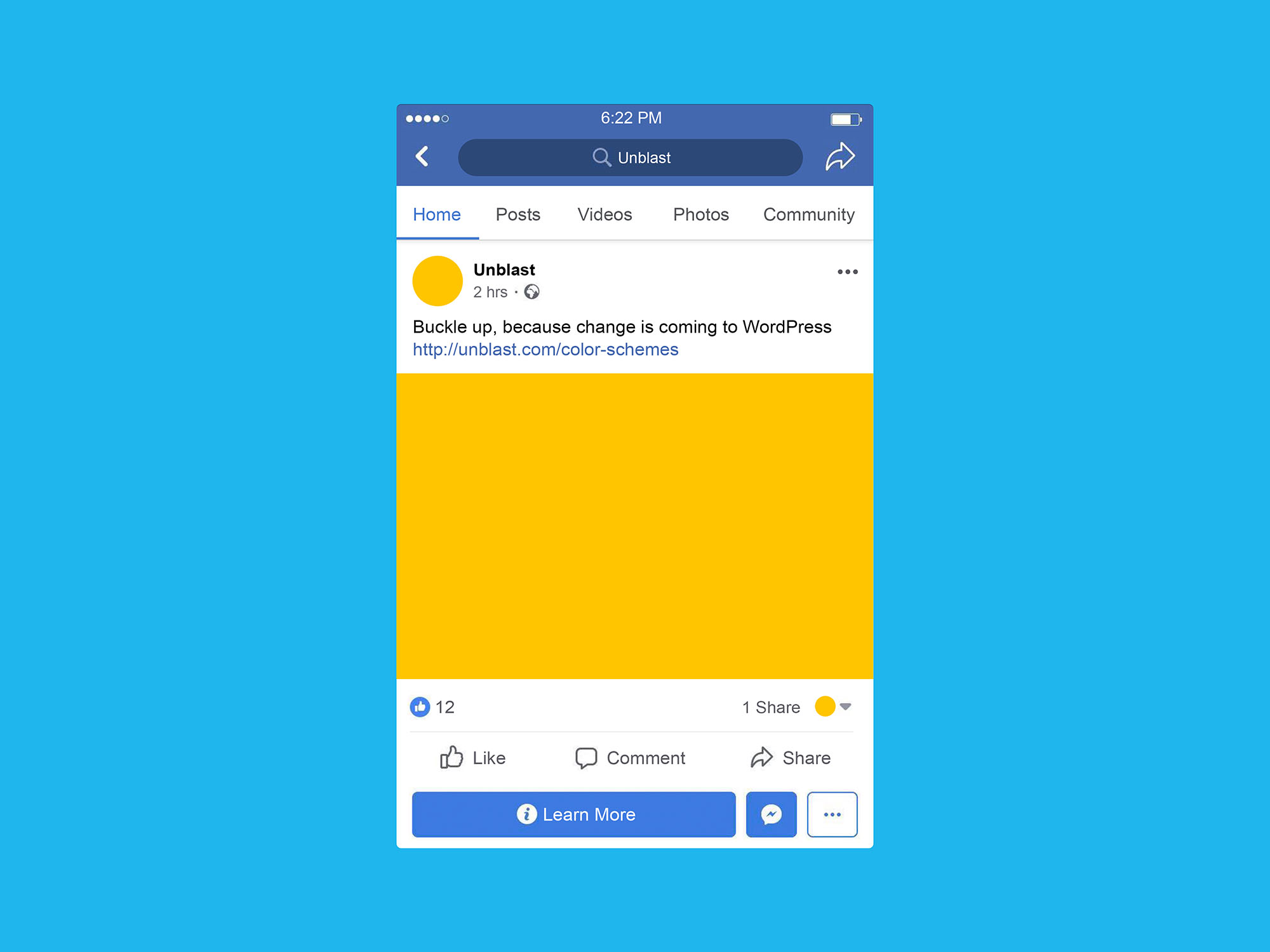 Download this premium facebook ad mockup design for advertisement designs presentation. Facebook Mobile Post Mockup Psd