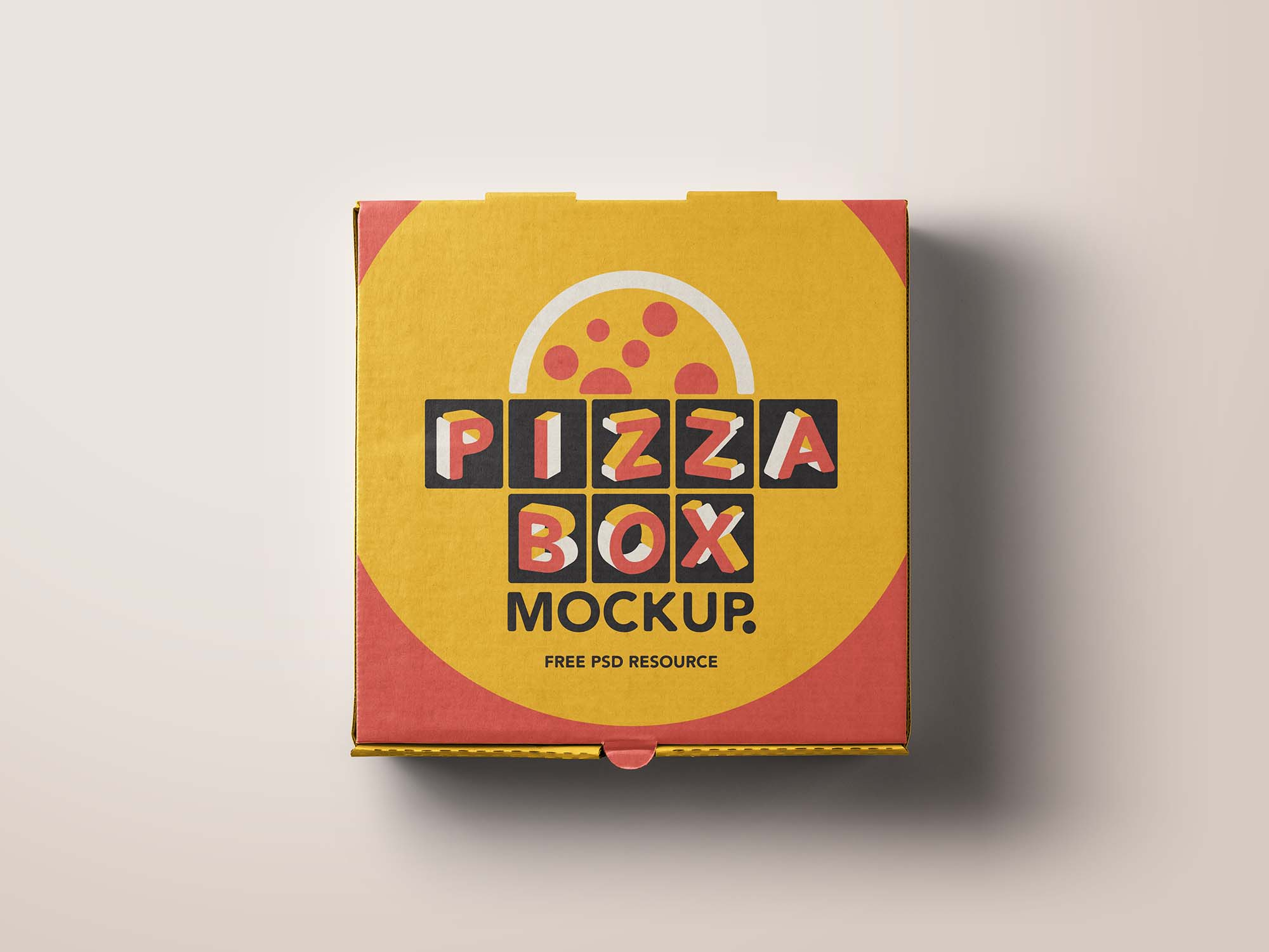 free pizza box package