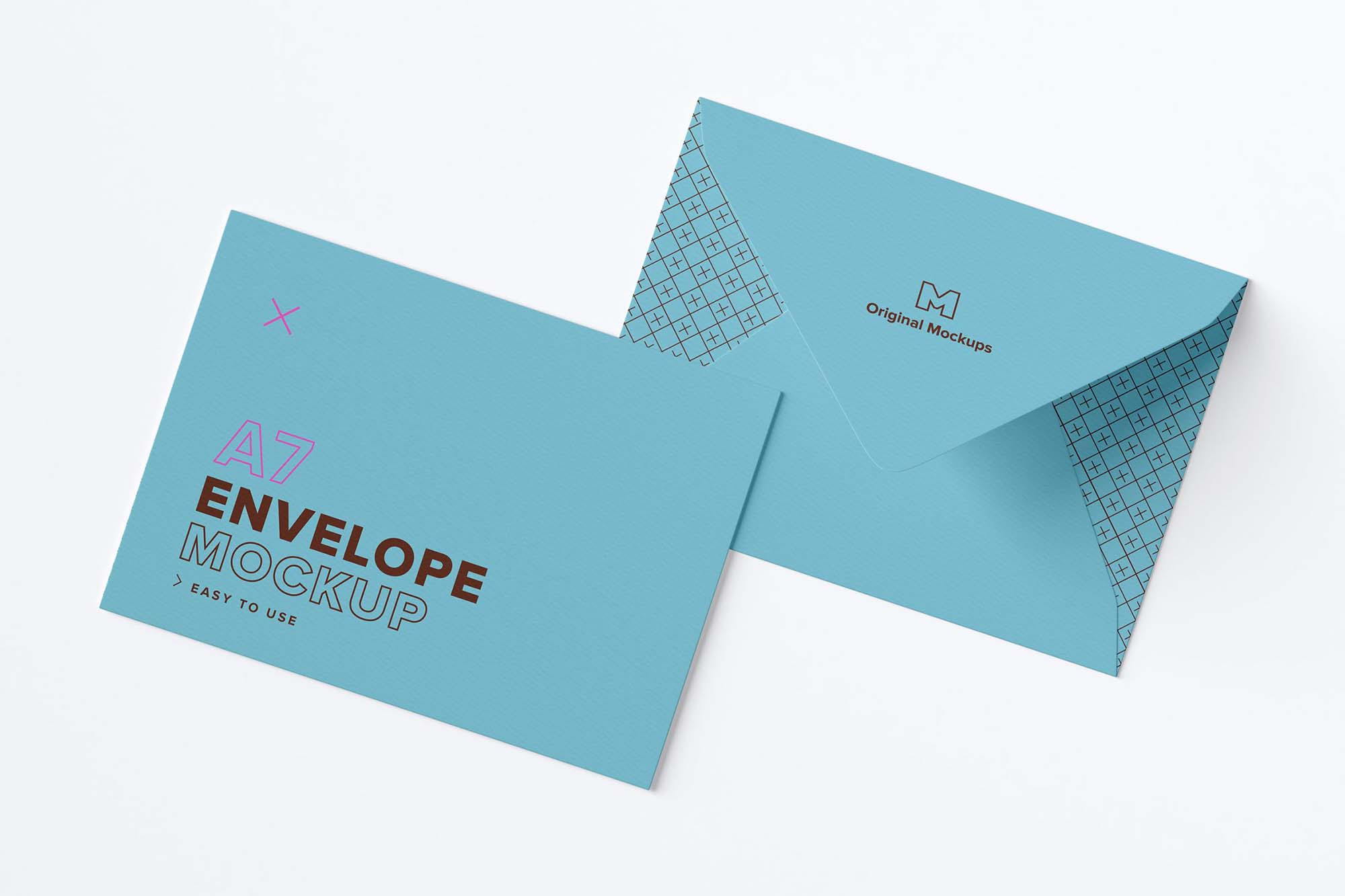 The following guidelines are to help you figure out how large is a no. Free A7 Envelope Mockup Psd