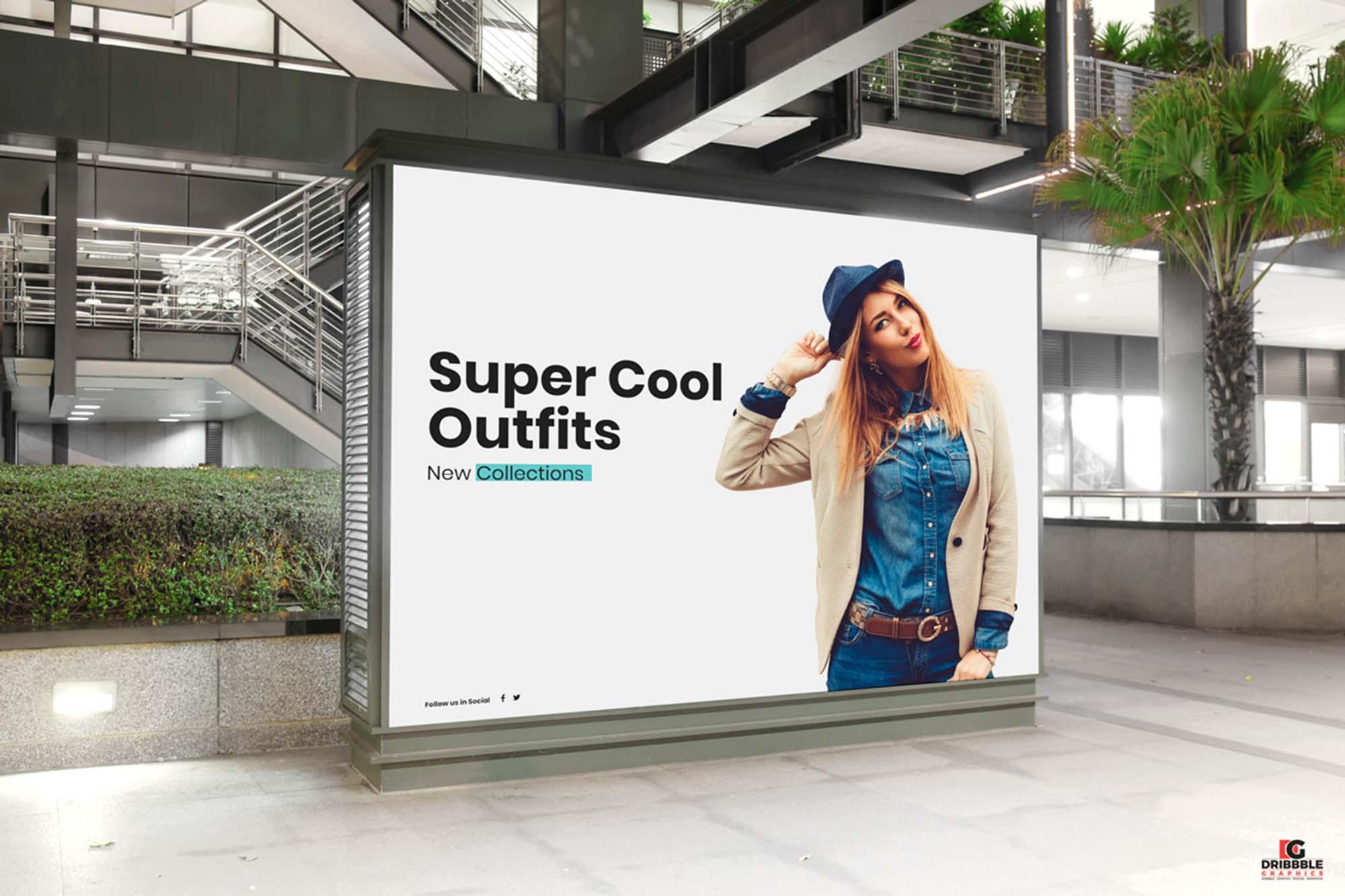 indoor billboard digital ad