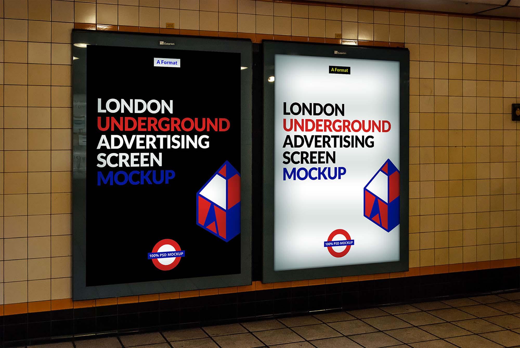 free london underground ad