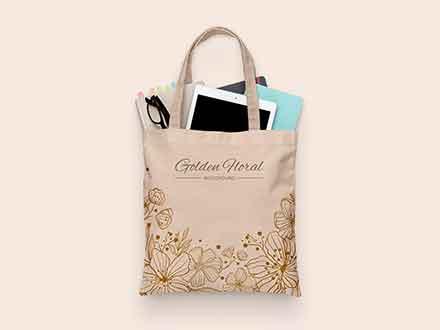 Plastic bag with corn salad mockup. Best Free Bag Mockups