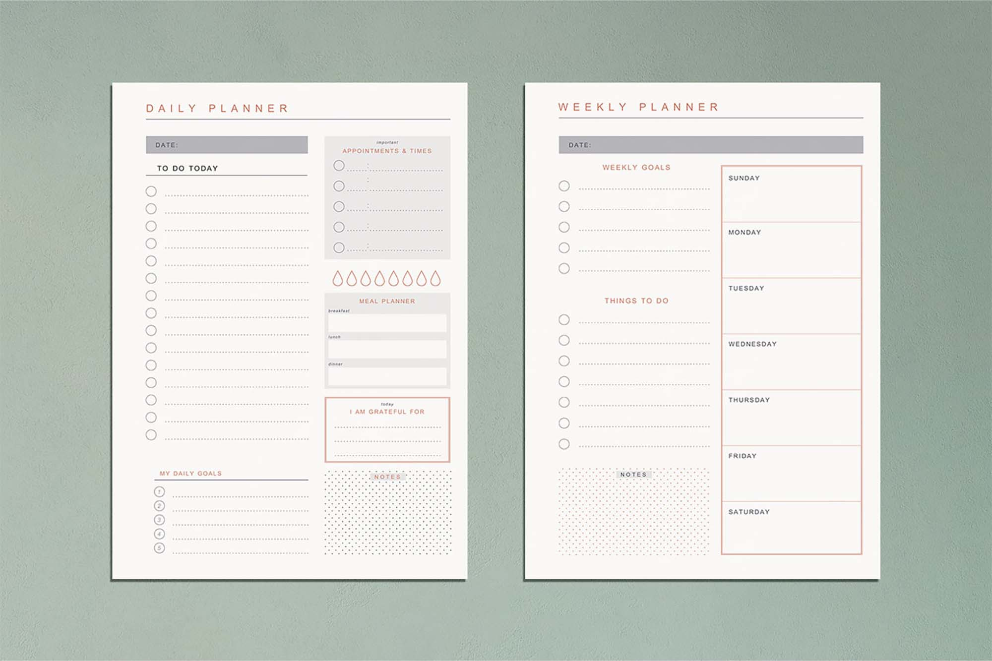Free Planner Templates (AI)