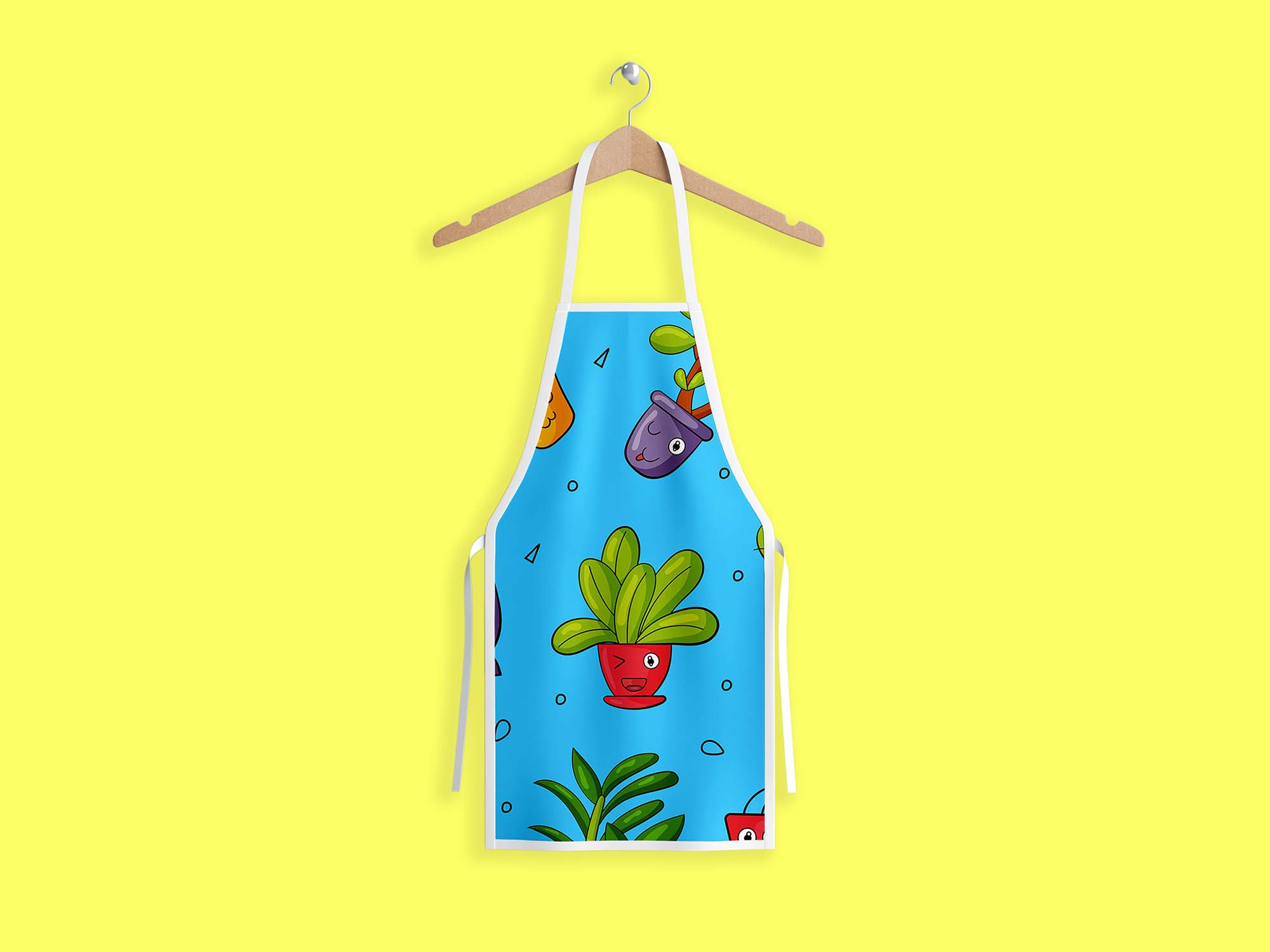 download free download apron psd mockup that will allow you to present a logo or typography in a natural way. Free Chef Apron Mockup Psd