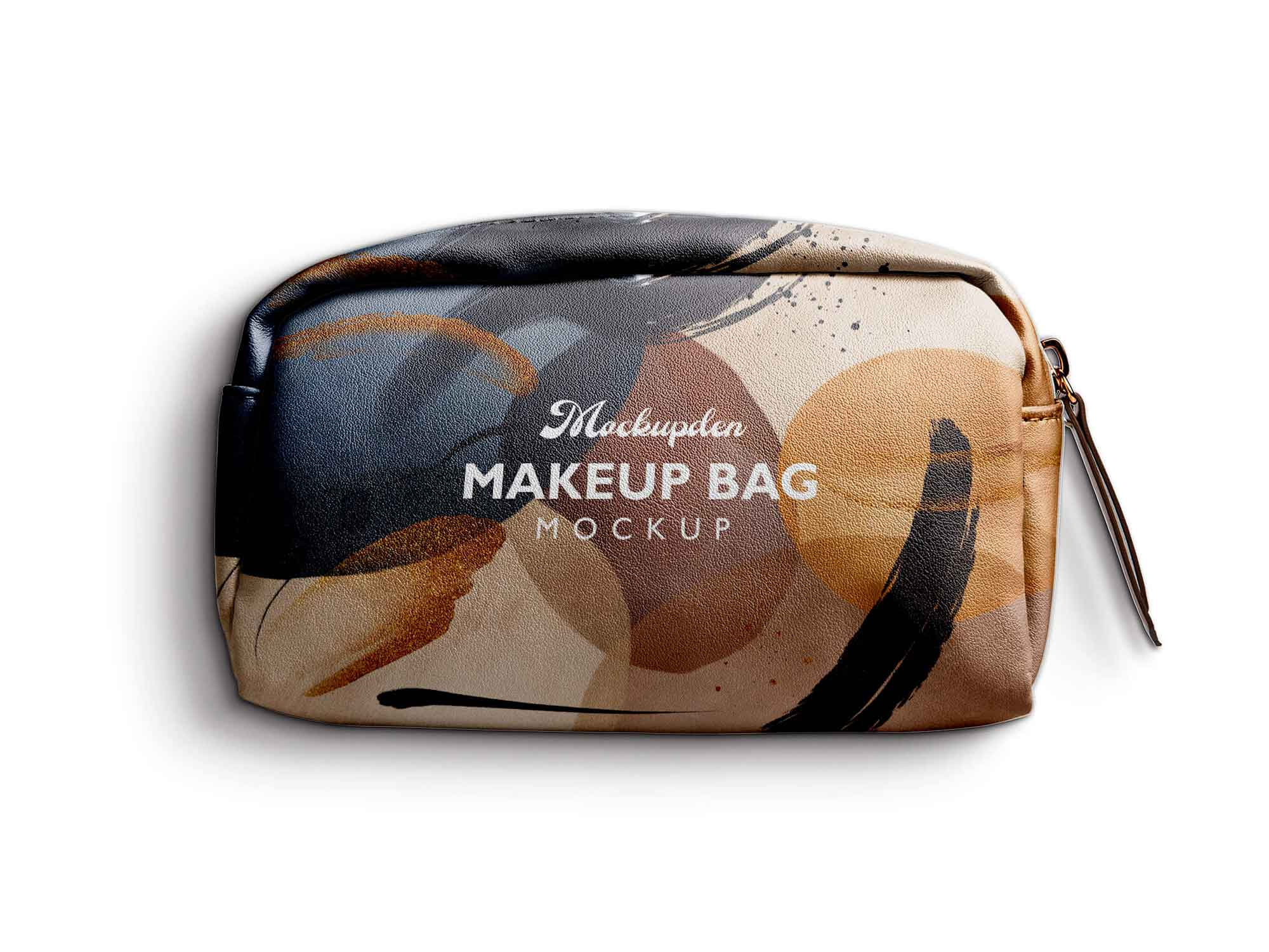 Makeup bags occupy a very specific niche and can't be replaced by anything else. Free Makeup Bag Mockup Psd
