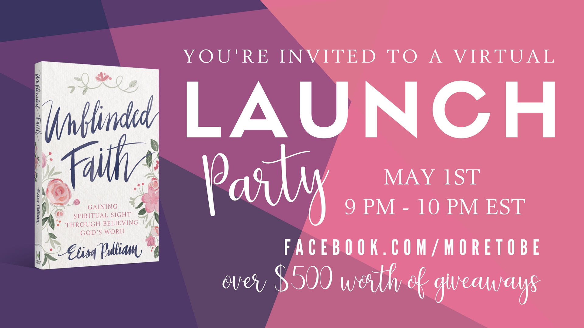 You're Invited to Our Virtual Launch Party