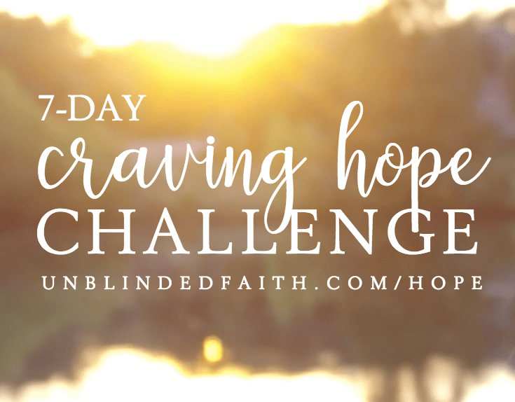7-Day Craving Hope Challenge