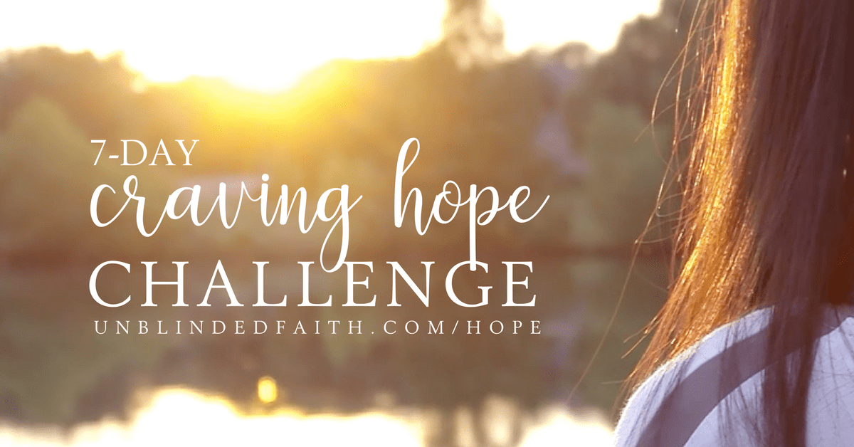 7 Day Craving Hope Challenge