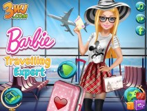 Barbie Traveling Expert Game