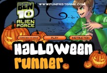 Ben 10 Alien Force Halloween Runner