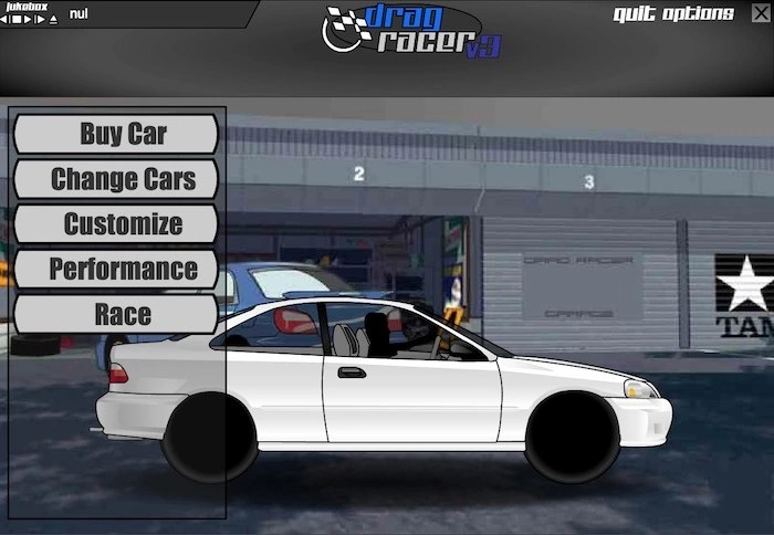 Drag Racer v3 Game Online Play