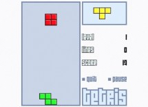 Tetris : Back to School Classic Game