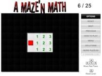 A Maze'n Math Game