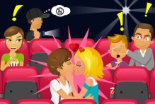Kissing at the Movies