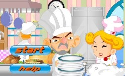 Quit Cooking: A Cooking Slacking Game