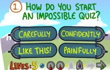 Impossible Quiz Book: Chapter 1