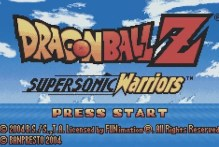 DragonBall Z – Supersonic Warriors (GBA)