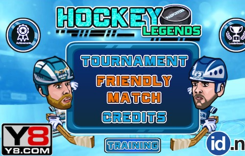 Hockey Legends Unblocked Games