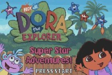 Dora the Explorer: Super Star Adventure (GBA)