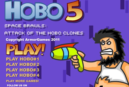 Play Hobo 5 Space - Unblocked Game