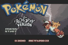 Pokemon Ash Gray Version (GBA)