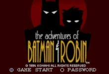 Adventure of Batman Robin (SNES)