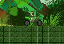 Ben 10 Jungle Motorbike
