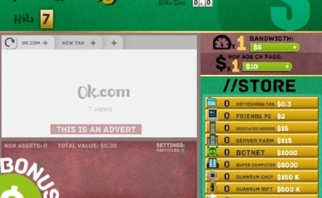 Idle Web Tycoon Unblocked Games