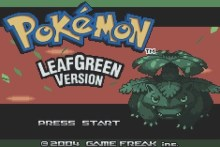 Pokemon LeafGreen Version (GBA)