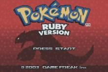Pokemon: Ruby Version (GBA)