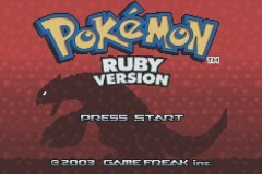 Pokemon: Ruby Version (GBA)