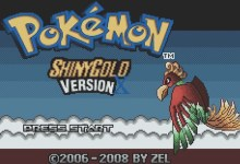 Pokemon Shiny Gold (GBA)