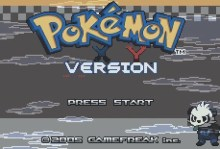 Pokemon X Y Version (GBA)