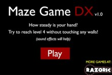 Scary Maze DX Game