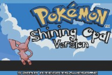 Pokemon Shining Opal (GBA)