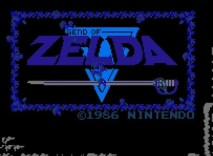 The Legend of Zelda game (NES)