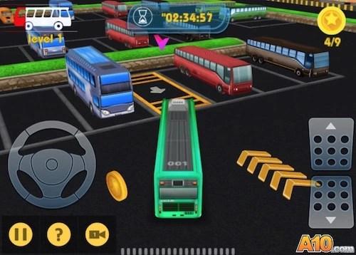 Bus-Man Parking 3D 2