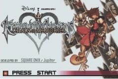 Kingdom Hearts - Chain of Memories (GBA)