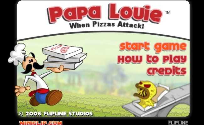 Papa Louie Hacked Unblocked Games