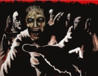 Zombie Attack in Hell