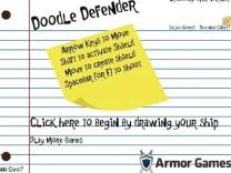 Doodle Defender Hacked