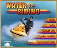 Water Jet Riding