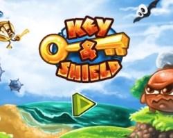 key and shield