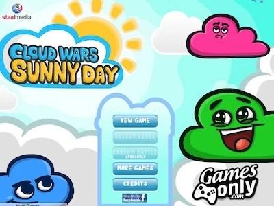 cloud wars sunny day