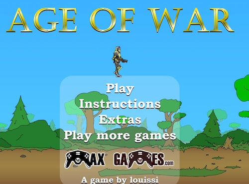 Age of War 1, 2, and 3 - TechGrapple Games