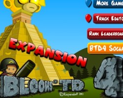Bloons Tower Defense 4 expansion Unblocked