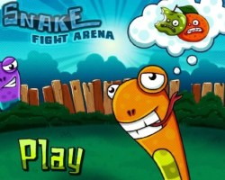 snkae fight area